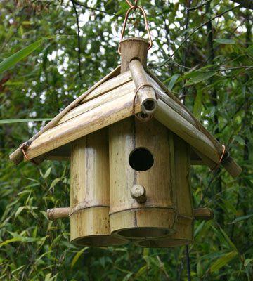 bamboo birdhouse | Bamboo for Birds