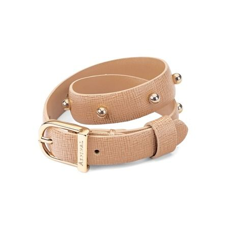 A new addition for our 2015 Spring Summer Collection, the Marylebone Buckle Bracelet is inspired by its namesake family of iconic Aspinal handbags. Featuring signature saddlery stud detail along a luxe deer saffiano leather strap, this chic...