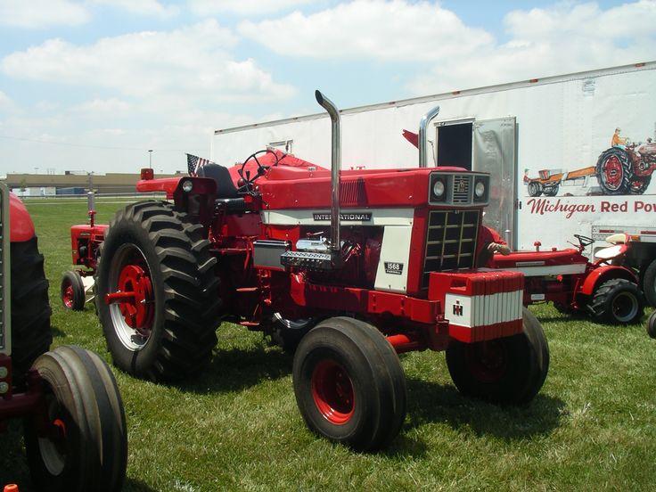 Antique International 1568 : Best i h images on pinterest tractors big trucks
