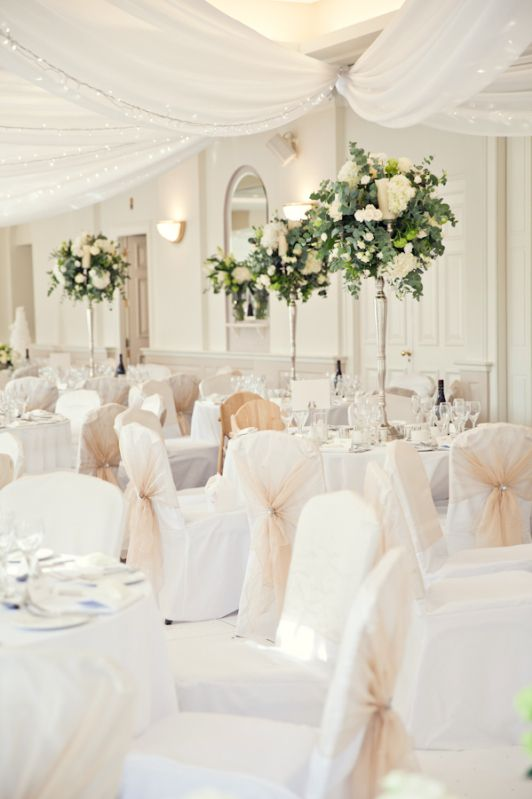 White Classic Hollywood Glamour Wedding http://www.kerryannduffy.com/