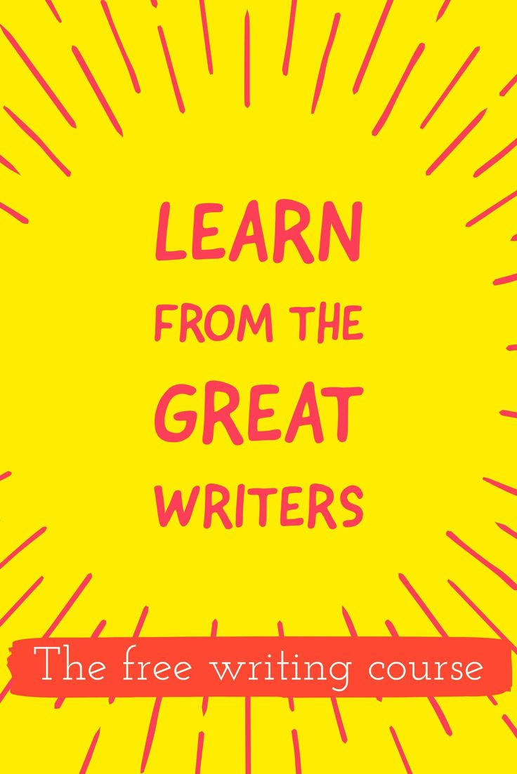 The best way to improve your writing and find your own voice: start copying and re-mixing the great writers of the past. This short course will help you get started!