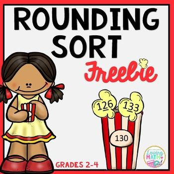 This rounding sort activity is great to practice rounding to the nearest ten and nearest hundred. Students place the popcorn into the correct bucket according to the digit being rounded. Low prep and great for a math center activity.Includes: 48 Numbers with a digit underlined to students can round accordingly. 12 Popcorn Buckets.