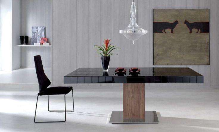 moderna y elegante mesa de comedor extensible de dise o