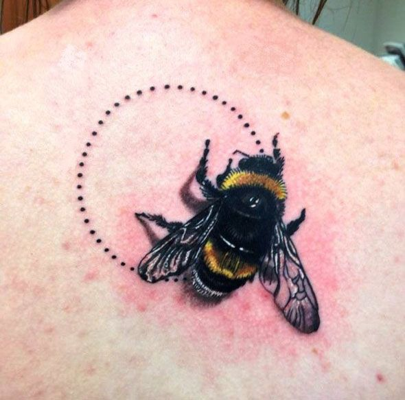 Best Bee Tattoos in the World, Bee Tattoos in the World, Best Bee Tattoos,  Best…