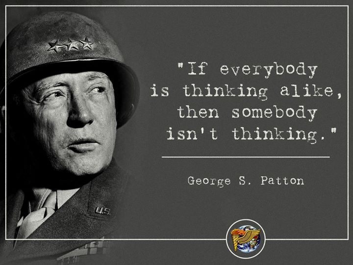 George S Patton Jr.