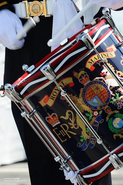 Royal Marines Band Drum | Flickr - Photo Sharing!