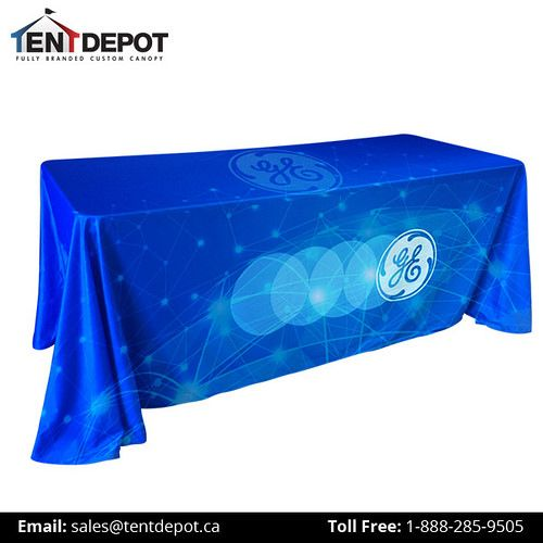 https://flic.kr/p/UCFZ7D | table-covers-custom-full-color | Prepare an good-looking and professional display with trade show table covers & runner. Always successful trade event maker know the importance of a well-designed trade show booth. One of the most important pieces of a perfect trade show display booth is its table treatments, including table covers, runners and other coverings.