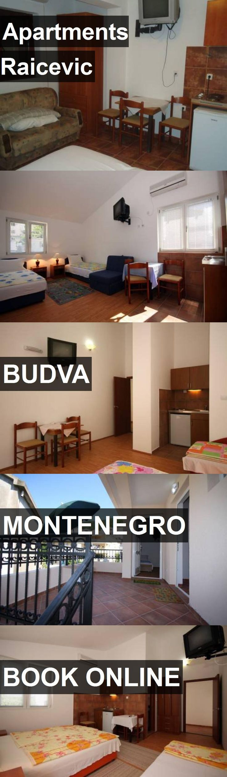 Hotel Apartments Raicevic in Budva, Montenegro. For more information, photos, reviews and best prices please follow the link. #Montenegro #Budva #hotel #travel #vacation