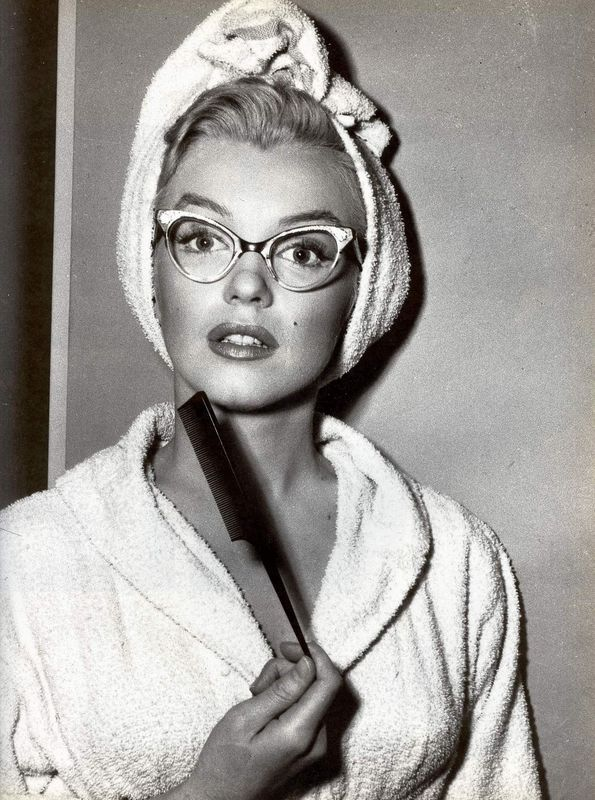 """Hair and make-up Test for """"How to Marry a Millionaire"""" 1952"""