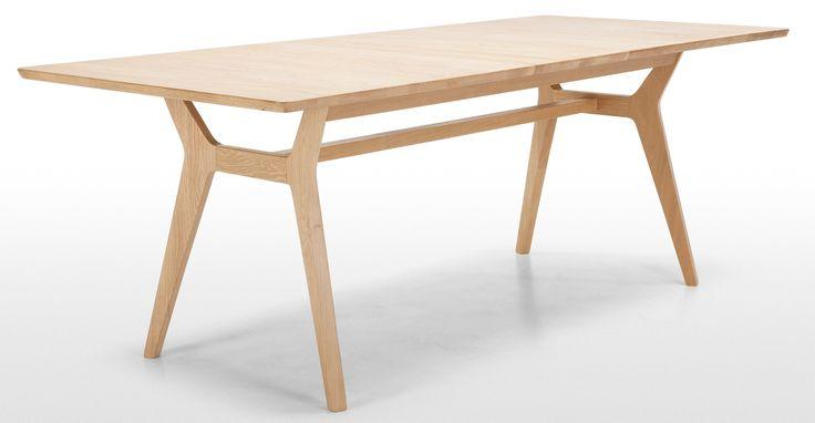 Jenson ausziehbarer Esstisch, Eiche ► Neues Design für dein Zuhause! Entdecke jetzt Tische von klein bis groß bei MADE.