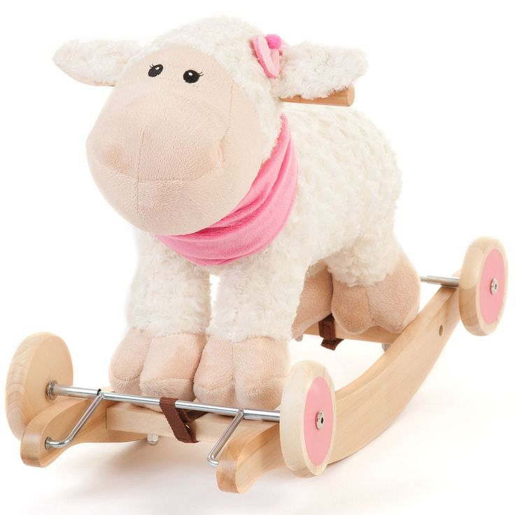 Tigris Wholesale Kids' White Wooden Toy Rocking Sheep - Availability: in stock - Price: £34.99 http://chillax4u.com/products/tigris-wholesale-kids-white-wooden-toy-rocking-sheep