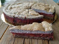 Habos szilvás-mákos sütemény
