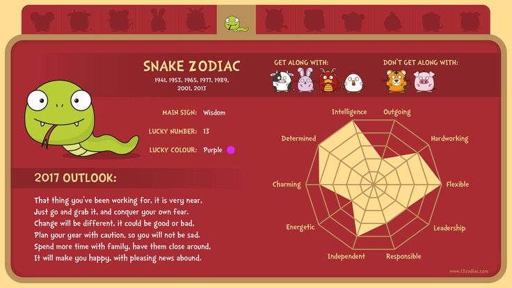 What's in store for people born in the year of the Snake?