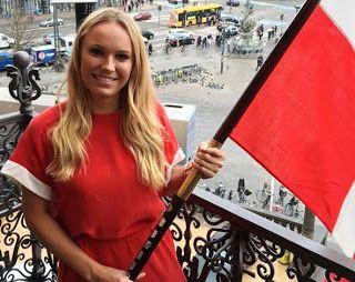 Blog Esportivo do Suíço:  Porta-bandeira da Dinamarca, Wozniacki só vem ao Rio por convite