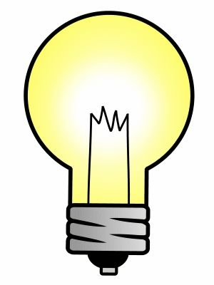 I have an idea! Let's draw this cartoon light! :)