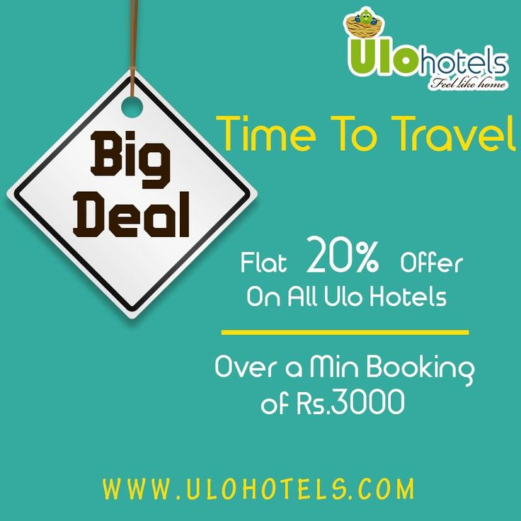 Time to #Travel. #Flat 20% offer on all #ULOHotels. Over a min booking of Rs.3000. Book now: www.ulohotels.com  #Coorg #Kodaikanal #Ooty #Kollihills
