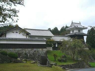 岩村城跡(麓に復元)