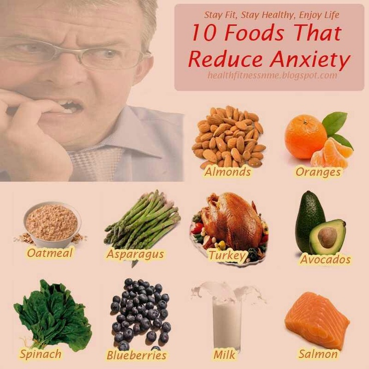 Foods To Eat To Reduce Anxiety