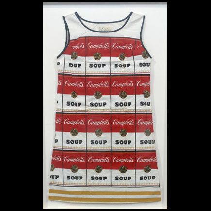 The paper dress style was a short-lived fad, but this 1967 Campbell's Soup paper dress is now worth thousands.