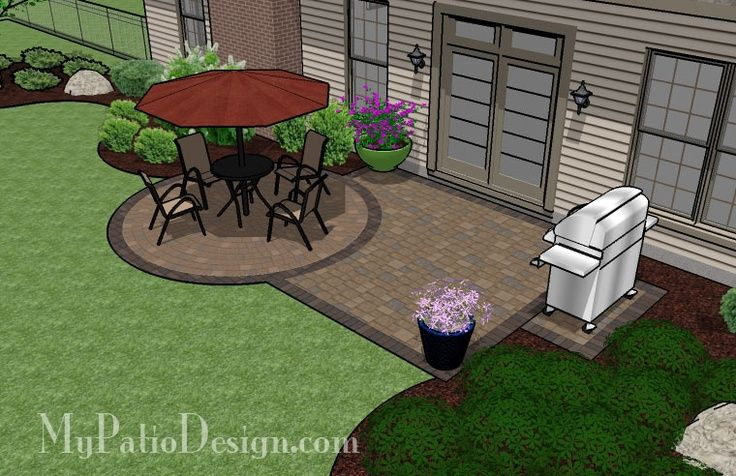 Patio ideas on a budget small patio on a budget patio for Small patios on a budget