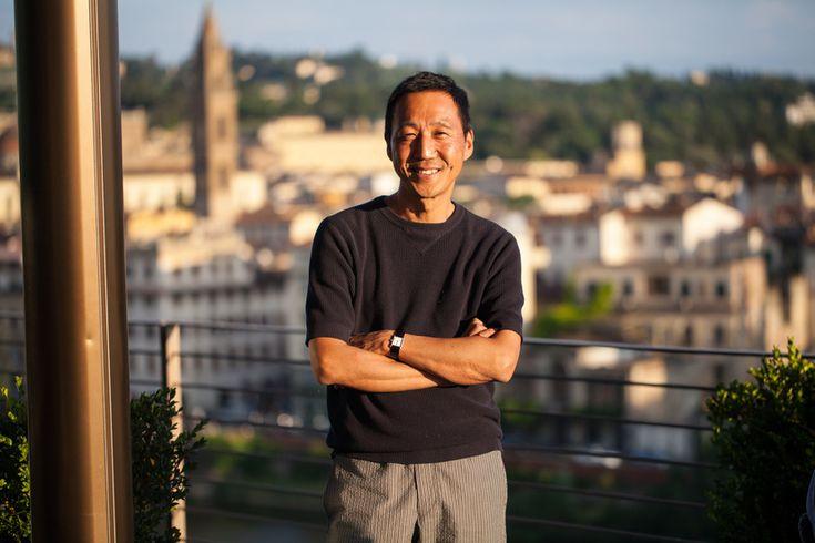 Yasuto Kamoshita at the St. Regis in Florence.