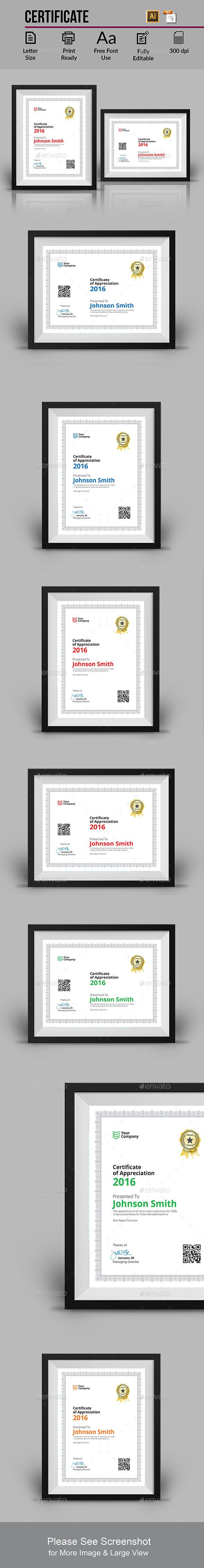 186 best certificate templates designs images on pinterest certificate yelopaper Image collections