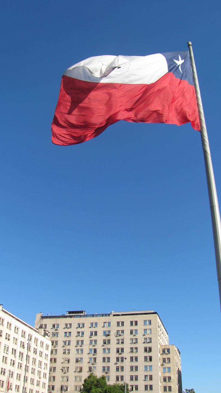 La Bandera. Santiago, Chile.