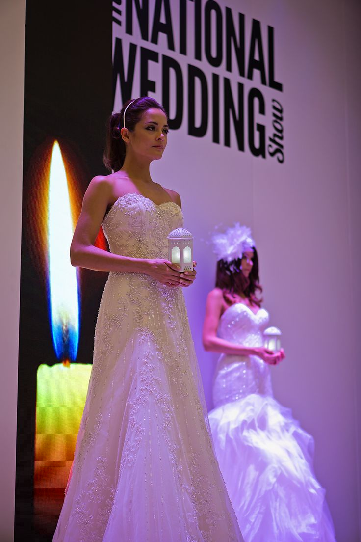 Wedding gown catwalk show