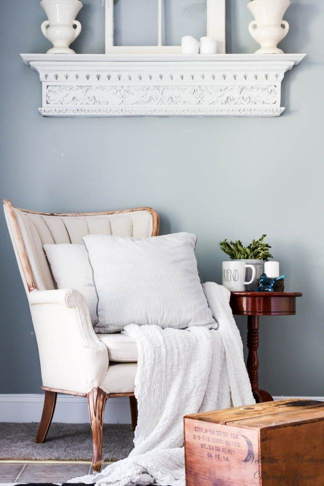 How to Paint Chair Upholstery So the Seat Doesn't Crack! - A Modern Vintage Home