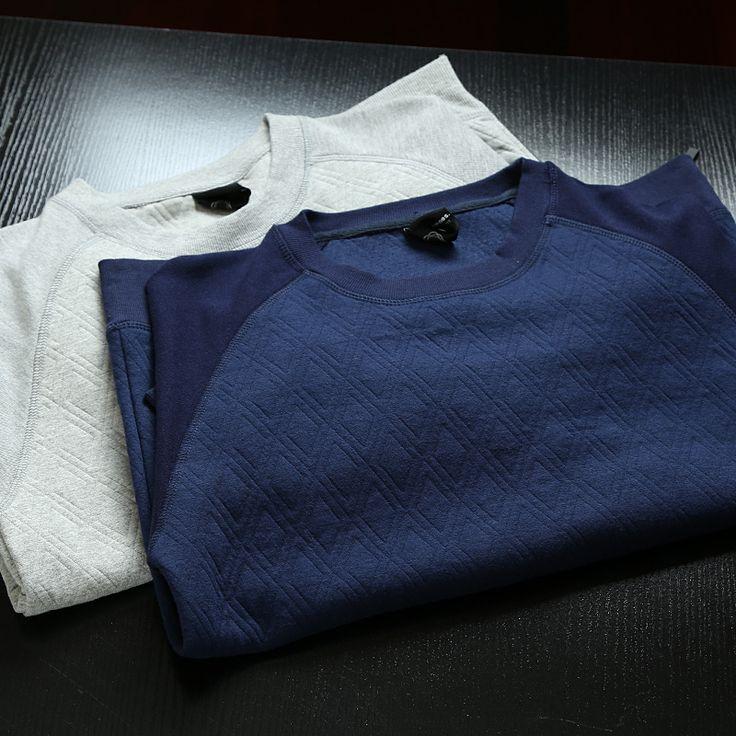 Европейская и американская торговля оригинальной одной новой мужской весенней мужской британской моды досуга сторона молнии вокруг шеи пуловер свитер - Taobao
