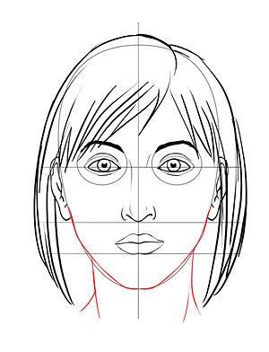 Tekenen portret stap voor stap