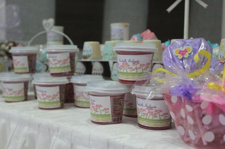 dulces personalizados mesa jardin