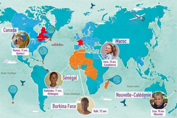 A l'occasion de la Semaine de la francophonie, des enfants francophones du monde entier ont expliqué à 1jour1actu comment ils pratiquent le français.