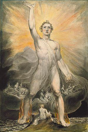 William Blake: Angel of the Revelation (14.81.1) | Heilbrunn Timeline of Art History | The Metropolitan Museum of Art