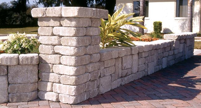 old manor pillar retaining wall block building a raised on wall blocks id=39559