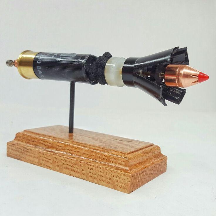 Hornady 12GA SST Sabot Slug Shotgun Shell from Ballistic Concepts Expanded ammunition ammo display model