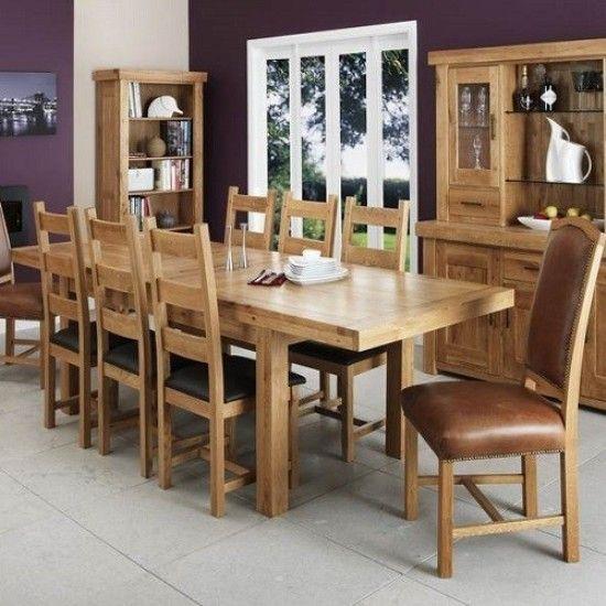die besten 25+ oak dining room set ideen auf pinterest | braune, Esszimmer dekoo