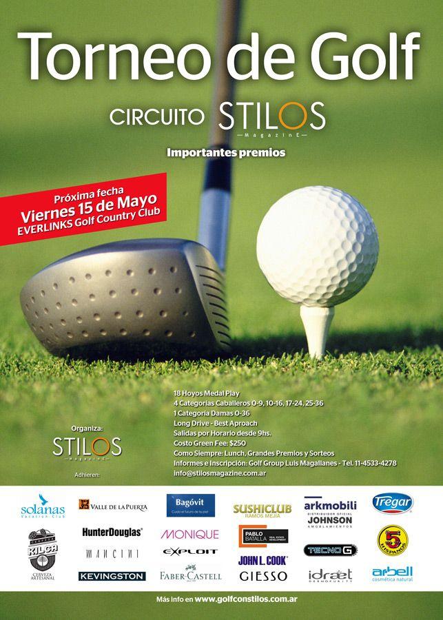 Golf con Stilos 3ra. fecha 15.5 en Everlinks
