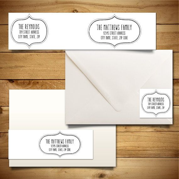 7 best Address Labels images on Pinterest Address label template - address labels word template