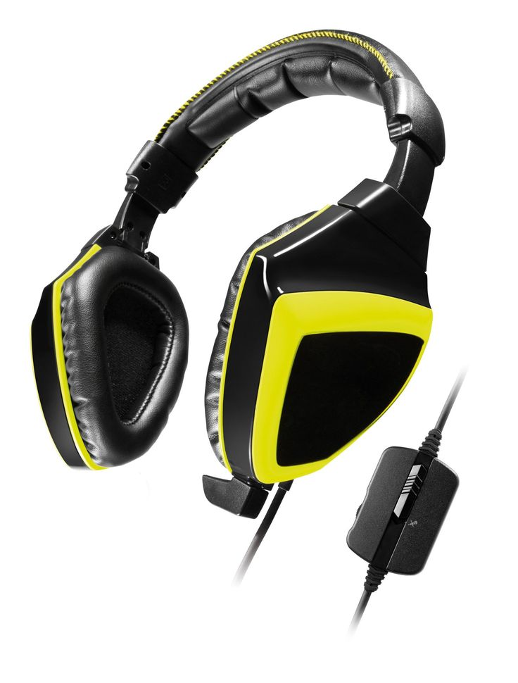 Snakebyte Python 3400S - Wired Stereo Gaming Headset for PS4 / Xbox One / PC / Tablet / Smartphone with 3.5mm Jack