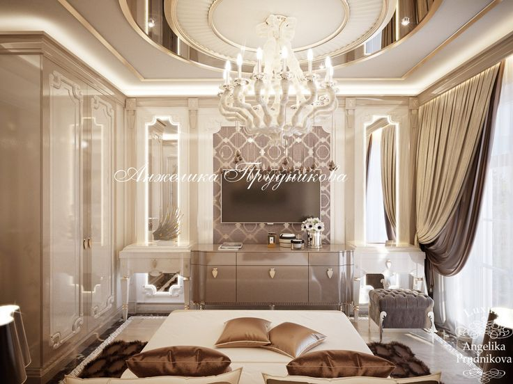 Обстановка спальни - Дизайн квартир