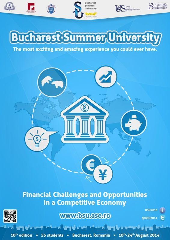 S-a dat startul aplicaţiilor pentru Bucharest Summer University 2014!