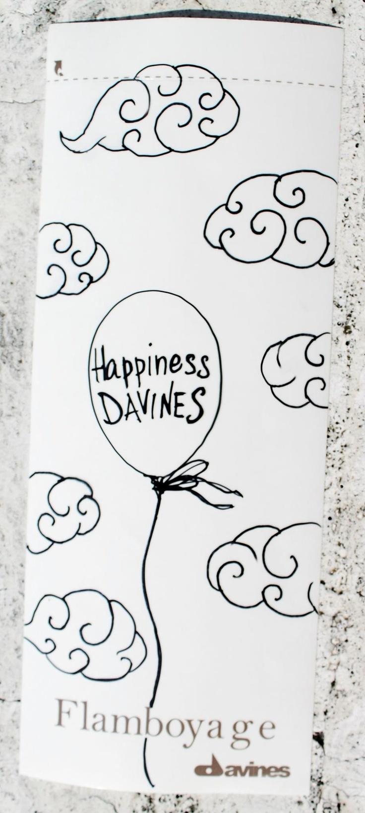 #Flamboyage #Davines #Happiness