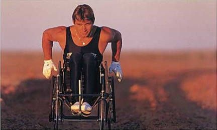 Rick Hansen, one of the most inspirational Canadians, EVER!