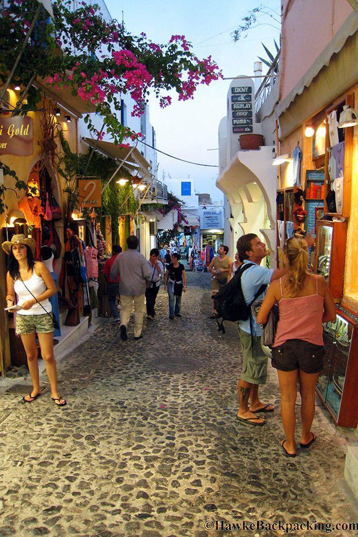 Santorini street