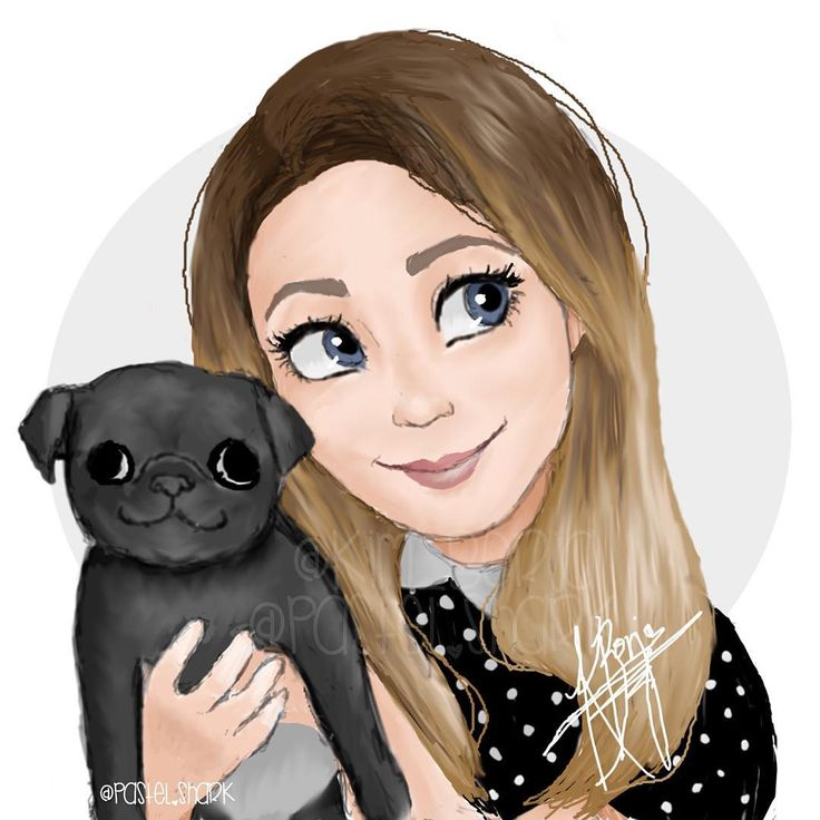 my favorite youtube beauty guru @zozeebo and her adorable pug nala!
