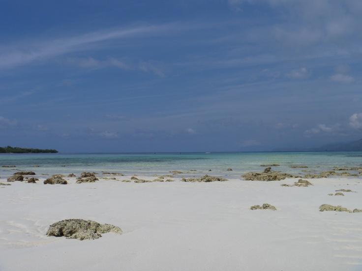 Beach near the airport, Pulau Alor, Indonesia