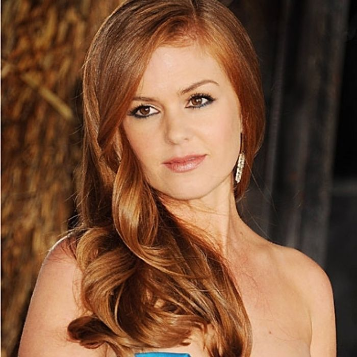 Celebrity Red Hair Isla Fisher Instyle Uk Design 390x390 Pixel