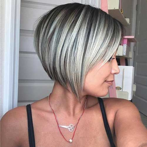 Stylish Short Fine Hairstyles with 20 Pics