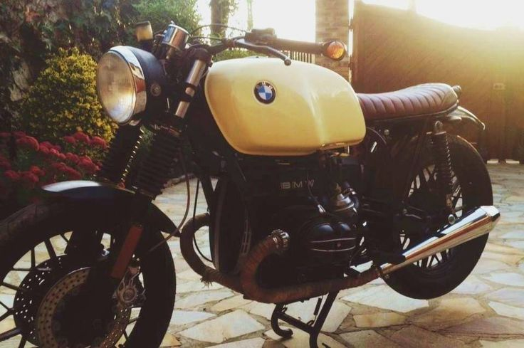 BMW Cafe with VonZeti seat & subframe